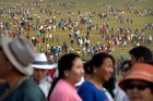 Grasslands are among the areas most at danger of population growth. Photo / AP