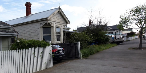KILLING: The scene of his fatal attack in Grey Lynn, Auckland.