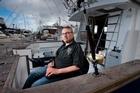 Wish 4 Fish founder Bryce Dinneen pictured at Tauranga Marina. Photo/Alan Gibson