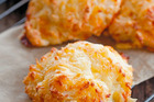 Annabel's three-ingredient cheese scones. Photo / Annabel Langbein Media