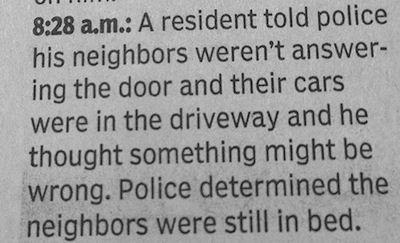 Neighbourhood watch. (Source: Badnewspaper.com)