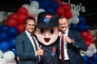 Pizza franchise Domino's has opened its 100th New Zealand store and promised 100 more in the next five years.