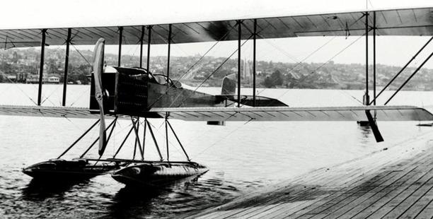 Boeing's Model 1 float plane, also known as B&W seaplane.