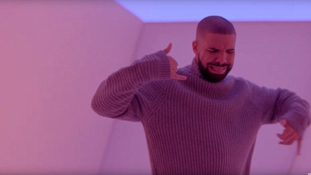 "Drake in ""Hotline Bling."" Photo / Supplied"