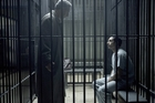 John Turturro and Riz Ahmed play a struggling lawyer and the accused in HBO's The Night Of. Photo / HBO