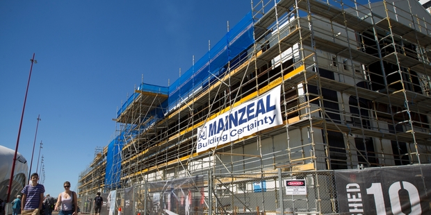 The failure of Mainzeal Property and Construction in 2013 resulted in unsecured creditor claims of more than $150 million. Photo / Greg Bowker