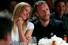 Gwyneth Paltrow and Chris Martin. Photo / AP