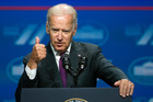 Joe Biden is due to touch down in Auckland next Wednesday. Photo / AP