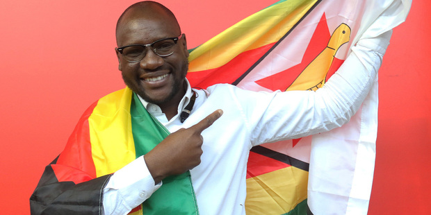 Evan Mawarire, a young pastor, has become a household name in Zimbabwe. Photo / AP