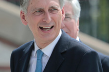 Foreign Secretary Philip Hammond is now Chancellor of the Exchequer. Photo / AP