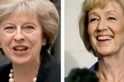 Theresa May and Andrea Leadsom will compete for the leadership of the Conservative Party. Photo/AP
