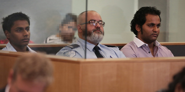 Shivneel Kumar (left) and Brynne Permal in Auckland High Court. Photo / File