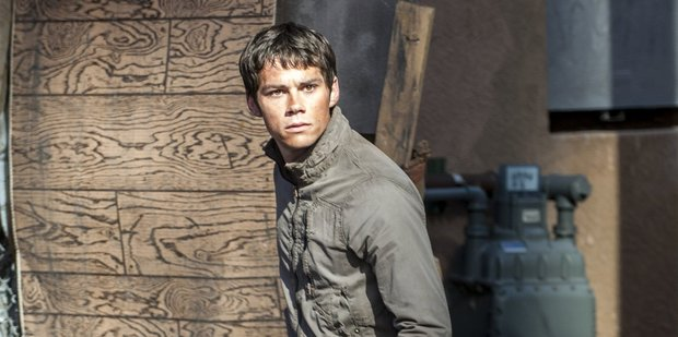 Dylan O'Brien in a scene from The Maze Runner. The actor is MIA after suffering an accident on the set of the latest instalment in the franchise.