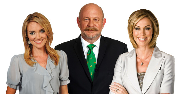 Petra Bagust, Mark Sainsbury and Wendy Petrie seen together in 2011.