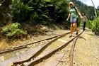 Kia ora: Karangahake Gorge