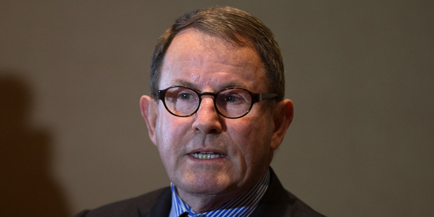 John Banks during his stand up media conference at the Stamford Plaza, Auckland. Photo / File