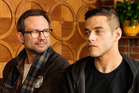 Christian Slater and Rami Malek in the hacker drama Mr Robot, which returns to our screens tonight.