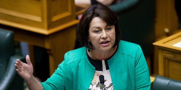 Eduaction Minister Hekia Parata under fire during question time at Parliament, Wellington. Photo / Mark Mitchell