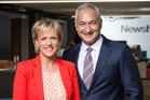 Mike McRoberts says he still misses Hilary Barry after the pair spent 11 years together presenting the news.