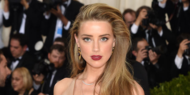 Heard's face was deemed more 'perfect' than Kim Kardashian's and Scarlet Johansson's. Photo / Getty