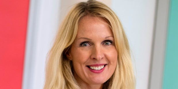 Education futurist Frances Valintine is behind the Tech Futures Lab, where professionals can take intense courses to re-train in tech specialist areas. Photo / Supplied