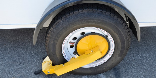 AA wants wheel clamps banned. Photo / Getty Images