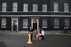 David Cameron and his family leave Downing St. Photo / Getty Images