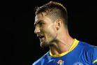 Troubled rugby league star Kieran Foran emerged publicly yesterday for the first time since walking out on his $5 million contract with the Parramatta Eels. Photo / Getty Images.