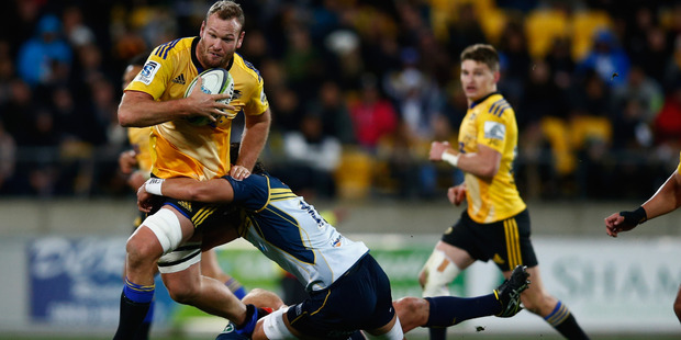 James Broadhurst was outstanding during the Hurricanes' march to last year's final. Photo / Getty