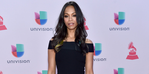 """Zoe Saldana has come to Idris Elba's defense after he was labelled """"too street"""" to be Bond. Photo / Getty Images"""