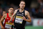 Nick Willis during the IAAF World Indoor Championships at Portland. Photo / Getty Images
