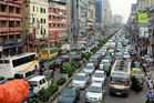 Traffic at the central part of Dhaka, Bangladesh. Dhaka is one of the most overpopulated cities in the world and new research indicates a devastating earthquake may be lurking below it. Photo / Getty