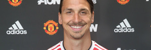 Manchester United manager Joe Mourinho regards new striker Zlatan Ibrahimovic as 'a funny guy'. Photo / Getty Images