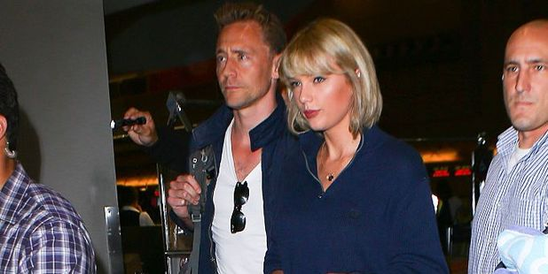Taylor Swift and Tom Hiddleston are seen at LAX on in Los Angeles, California. Photo / Getty Images