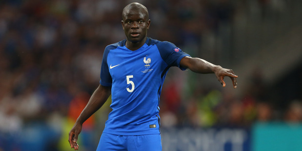 N'Golo Kante, of France, has signed for Chelsea from Leicester City for a fee of ‎£30 million (NZ$55.6 million). Photo / Getty Images
