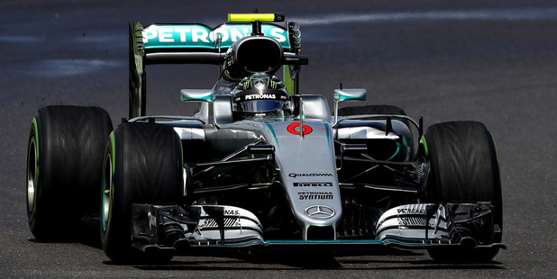 Nico Rosberg during the Formula One Grand Prix of Great Britain. Photo / Getty Images