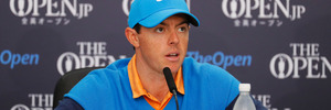 Rory McIlroy speaks at a press conference during previews of the 145th Open Championship. Photo / Getty Images