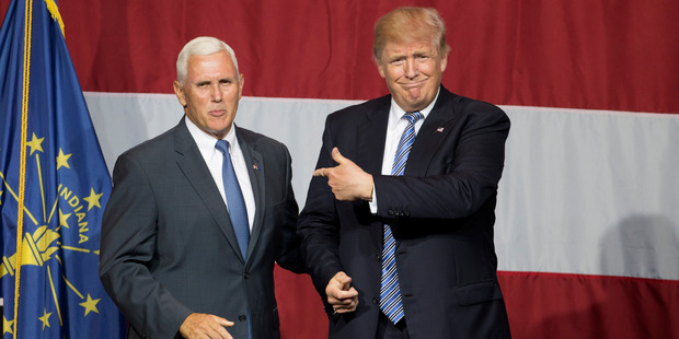 Donald Trump picks Mike Pence as his vice presidential running mate