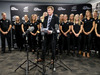 NZOC President Mike Stanley speaks during the New Zealand Olympic Games women's hockey team announcement. Photo / Getty Images.