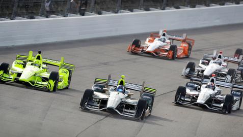 Newgarden earns IndyCar win in Iowa