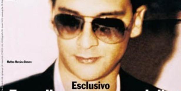 "Matteo Messina Denaro, the ""boss of bosses"" of Sicily's Cosa Nostra."