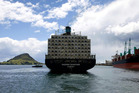 In the past the biggest ships to visit New Zealand were just over 5000 TEUs - now they will be double that size. File photo
