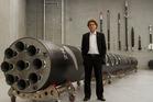 Rocket Lab founder Peter Beck.