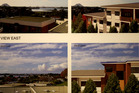 Melrose Retirement Village. The neighbours' views before and after construction.