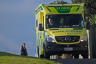 Man hurt after hit by car in Mount Maunganui. 10 July 2016 Bay of Plenty Times- Photograph by George Novak