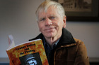 TALES OF OLD WHANGANUI: Author Murray Crawford with his latest book, Granny Dalton and the Firebug. PHOTO/BEVAN CONLEY