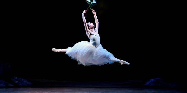 ELEGANT: Royal New Zealand Ballet dancer Lucy Green as Giselle in Giselle. PHOTO/SUPPLIED