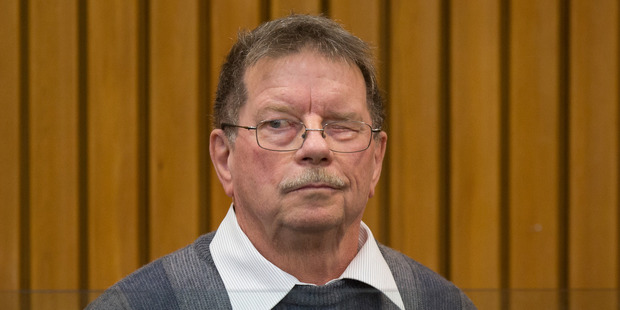 Donald Hancox has been sentenced for stealing from Upper Hutt College. Photo / Mark Mitchell
