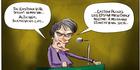 View: Cartoon: Helen Clark not worried about Eastern vote