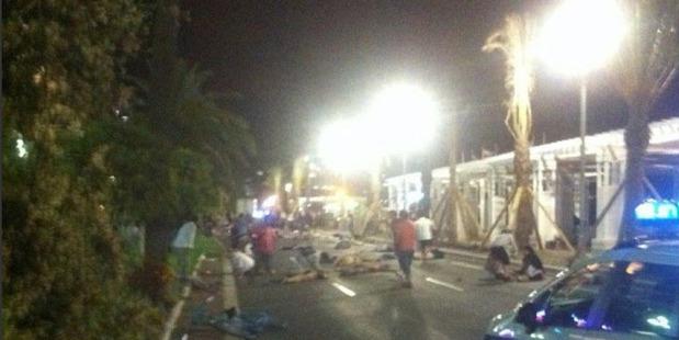 Terror attack in Nice on Bastille Day. Photo / Twitter